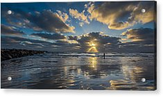 Just Her And Me Acrylic Print by Peter Tellone