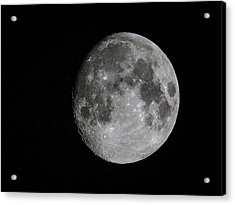 Just The Moon Acrylic Print by Jean Noren