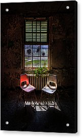 Just The Two Of Us Acrylic Print by Evelina Kremsdorf