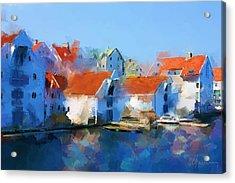 Kai Haugesund  Acrylic Print by Michael Greenaway