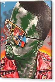 Kanye Visions Acrylic Print by Sammy Snow