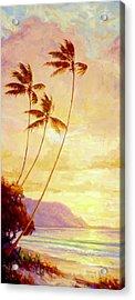 Kauai Sunset Acrylic Print by Jenifer Prince