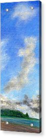 Kauapea Evening Acrylic Print by Kenneth Grzesik