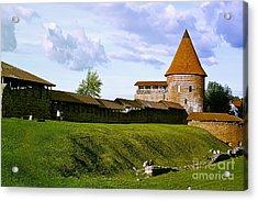Kaunas Castle Acrylic Print by Arvydas Kantautas