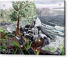 Keanae Acrylic Print by Fay Biegun - Printscapes