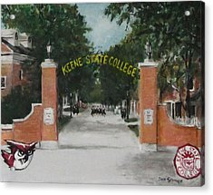 Keene State College Acrylic Print by Jack Skinner