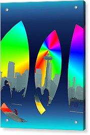 Kerry Needle 3 Acrylic Print by Tim Allen