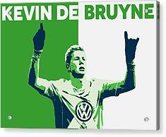 Kevin De Bruyne Acrylic Print by Semih Yurdabak