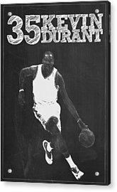 Kevin Durant Acrylic Print by Semih Yurdabak