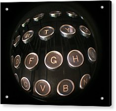 Key To Communication Acrylic Print by Jeffery Ball