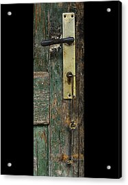 Key To The Barn Acrylic Print by Don Wolf