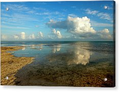Keys Reflections Acrylic Print by Mike  Dawson