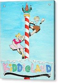 Kiddie Land Acrylic Print by Glenda Zuckerman