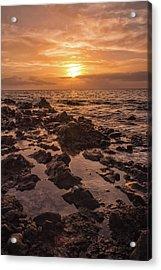 Kihei Sunset 2 - Maui Hawaii Acrylic Print by Brian Harig