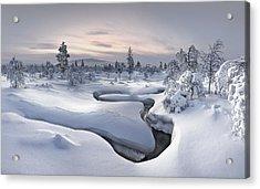 Kiilopaa - Lapland Acrylic Print by Christian Schweiger