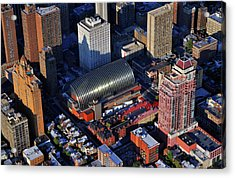 Kimmel Center For The Performing Arts 260 South Broad Street Suite 901 Philadelphia Pa 19102 Acrylic Print by Duncan Pearson