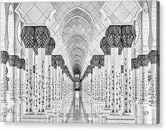 Kind Of Symmetry Acrylic Print by Stefan Schilbe