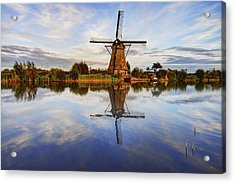 Kinderdijk Acrylic Print by Chad Dutson
