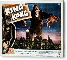 King Kong, Fay Wray, 1933 Acrylic Print by Everett
