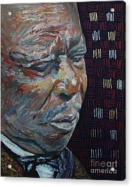 King Of The Blues B B King Portrait Acrylic Print by Robert Yaeger