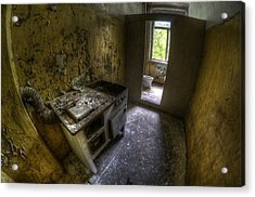 Kitchen With A Loo Acrylic Print by Nathan Wright