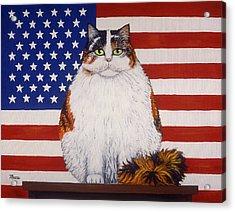 Kitty Ross Acrylic Print by Linda Mears