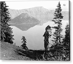 Klamath Chief, C1923 Acrylic Print by Granger