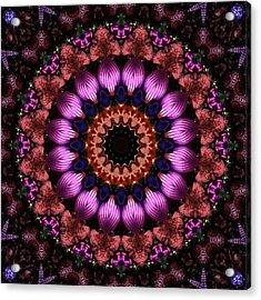 Klassy Kaleidoscope Acrylic Print by Lyle Hatch