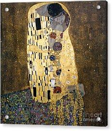 Klimt: The Kiss, 1907-08 Acrylic Print by Granger