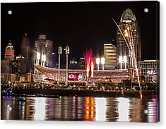 Knocking It Out Of The Park Acrylic Print by James Patterson