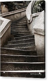 Komando Steps Acrylic Print by John Rizzuto