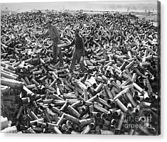 Korean War: Shell Casings Acrylic Print by Granger