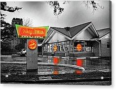 Krispy Kreme Acrylic Print by Michael Thomas