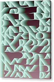 l13-F3FFD9-3x4-1500x2000 Acrylic Print by Gareth Lewis
