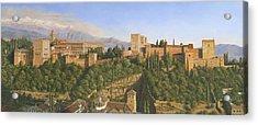 La Alhambra Granada Spain Acrylic Print by Richard Harpum