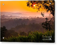 La Bella Toscana Acrylic Print by Inge Johnsson