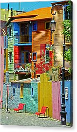La Boca - Buenos Aires Acrylic Print by Juergen Weiss