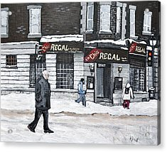 La Chic Regal Pointe St. Charles Acrylic Print by Reb Frost
