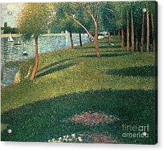 La Grande Jatte Acrylic Print by Georges Pierre Seurat