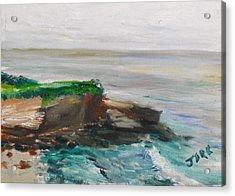 La Jolla Cove 069 Acrylic Print by Jeremy McKay