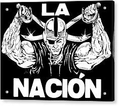 La Nacion Acrylic Print by Brian Child