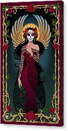 La Rosa Acrylic Print by Cristina McAllister