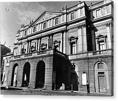 La Scala, Opera House, In Milan, Italy Acrylic Print by Everett