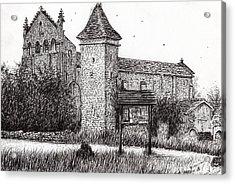 L'abbeye Blassimon Acrylic Print by Vincent Alexander Booth