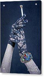 Lace Gloves Acrylic Print by Svetlana Sewell