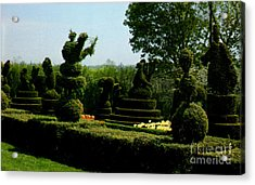 Ladew Topiary Gardens Acrylic Print by Ruth  Housley