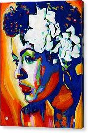 Lady Day Acrylic Print by Vel Verrept