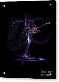 Lady Of Rock Acrylic Print by Viktor Savchenko