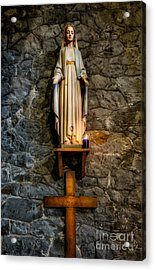 Lady Of Walsingham  Acrylic Print by Adrian Evans