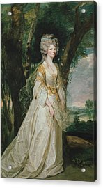 Lady Sunderlin Acrylic Print by Joshua Reynolds